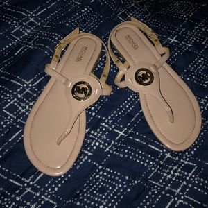 Michael Kors Thong Ankle Sandals size 7.5